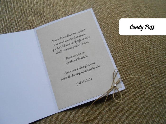 Texto Convite de Comunhão