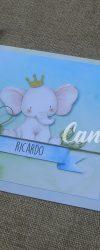 Convites de Batizado Elefante
