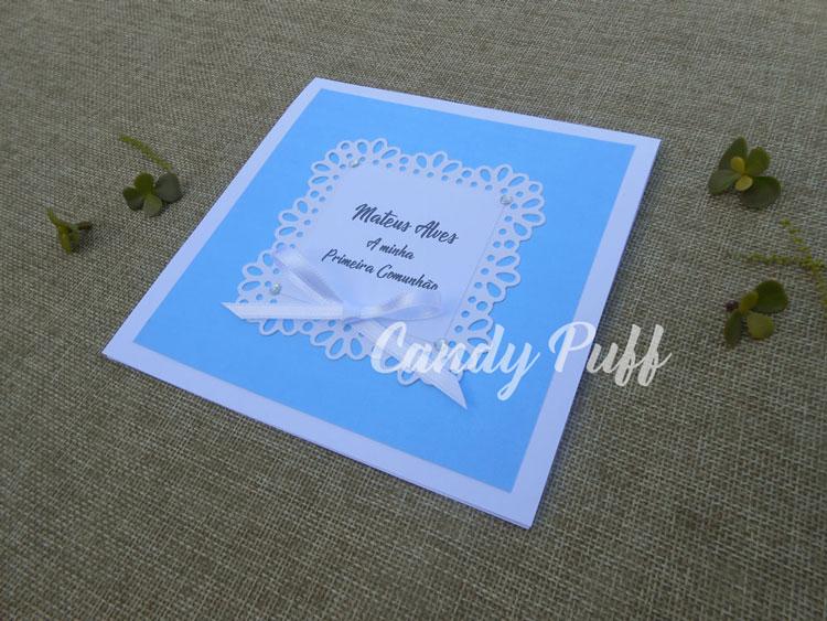 convite de comunhão clássico