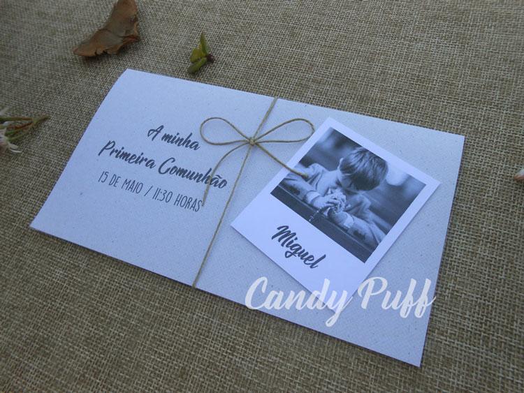 convites comunhão fotografia