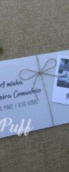Convites para Comunhão com Fotografia